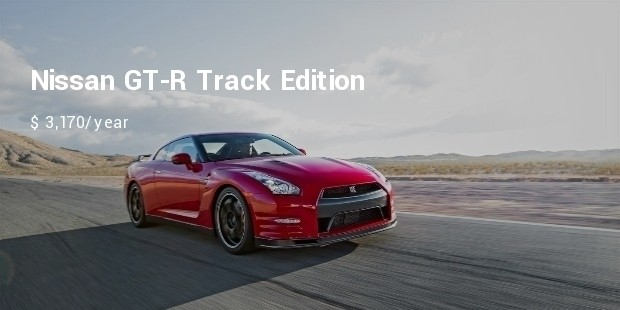 nissan gt r track edition