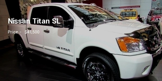 nissan titan sl