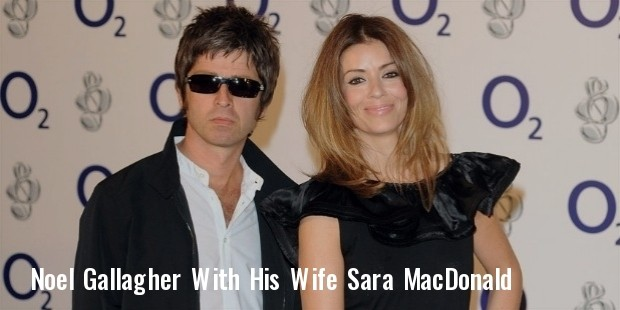 noel gallagher e sara macdonald