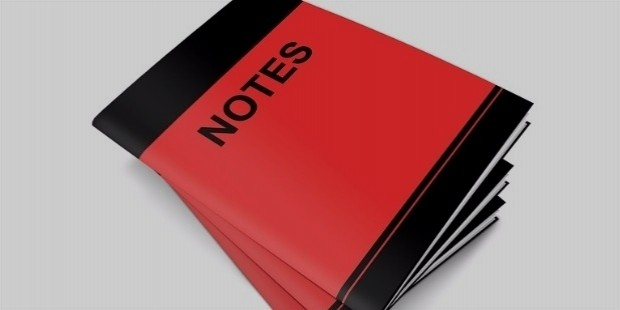 notes, notes and notes