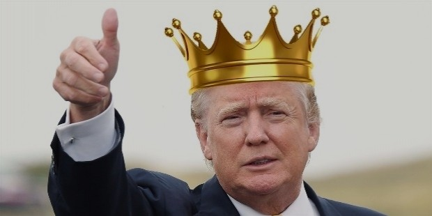 o donald trump king of england facebook