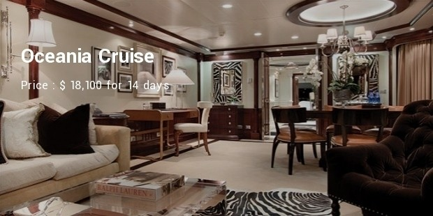 oceania cruise suites