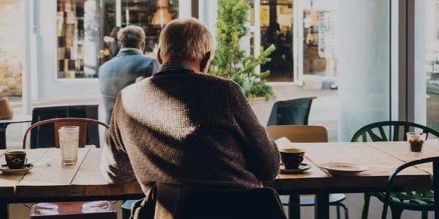 old man coffee