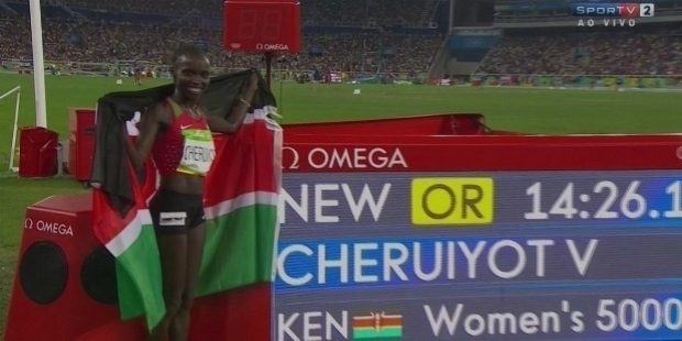 olympic champion cheruiyot