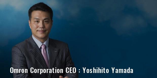 Yoshihito Yamada Omron