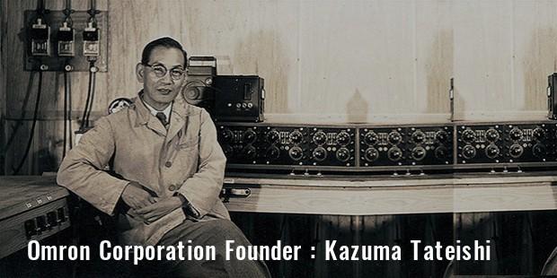 Omron Corporation founder Kazuma Tateishi