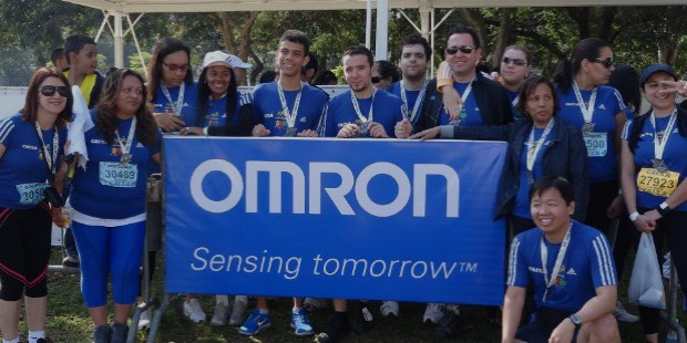 Omron Charity Work