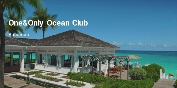 one only ocean club, bahamas