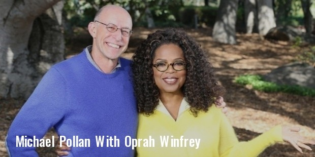 oprah and bestselling author michael pollan: