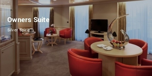 owners suite   silver spirit