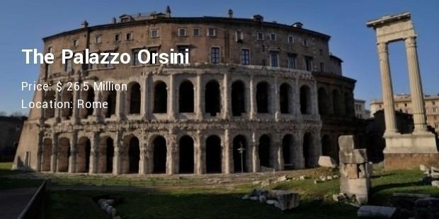 The Palazzo Orsini