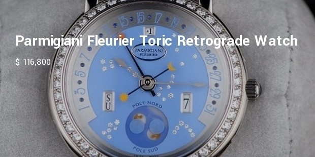 parmigiani fleurier toric retrograde watch