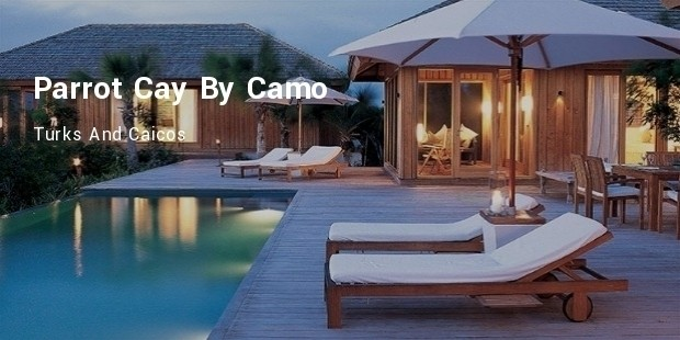 parrot cay by camo, turks and caicos