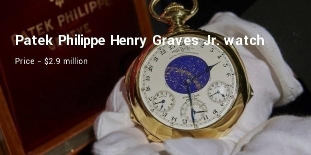 patek philippe henry graves jr