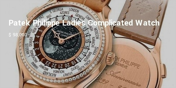 patek philippe ladies complicated watch