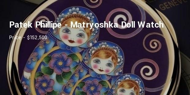 patek phillipe  matryoshka doll watch