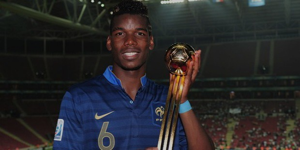 paul pogba golden ball award