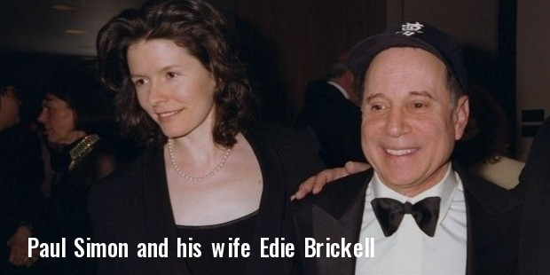 paul simon and wife edie brickell