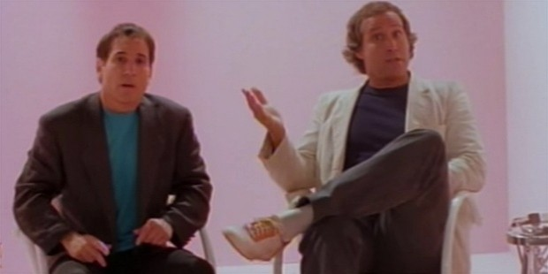 paul simon with chevy chase