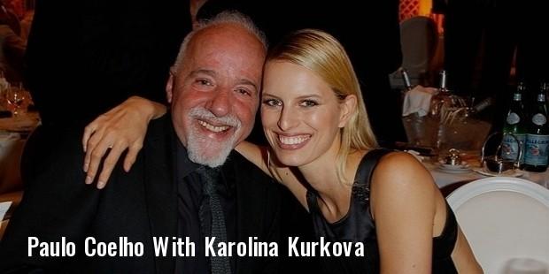 paulo coelho and karolina kurkova