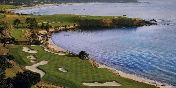 pebble beach golf links, california, usa