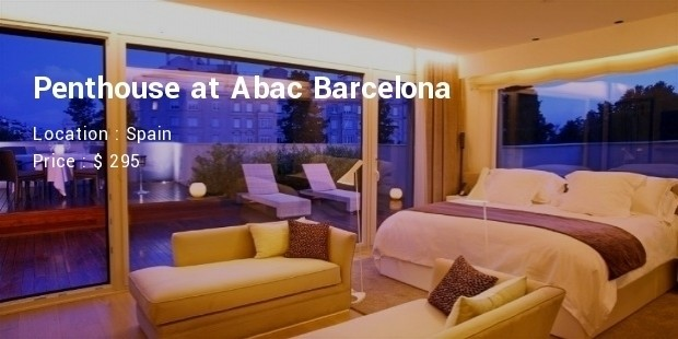 penthouse at abac barcelona