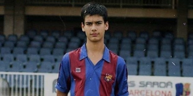 pep guardiola childhood