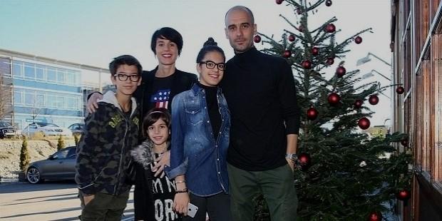 pep guardiola family