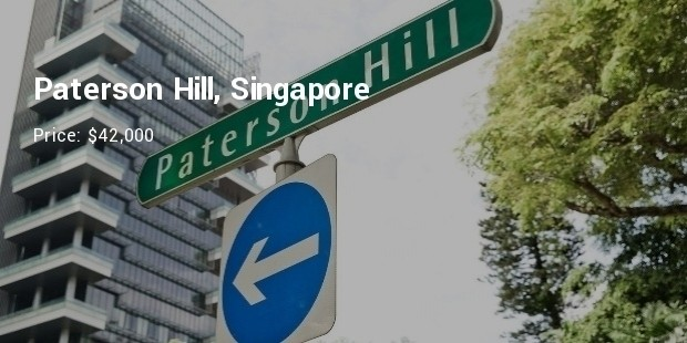 peterson hill, singapore