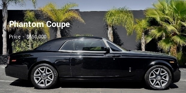phantom coupe