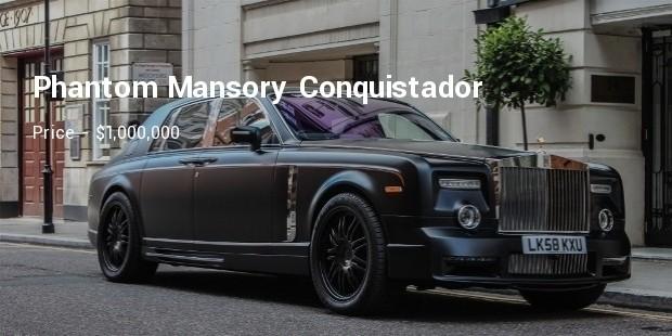 phantom mansory conquistador