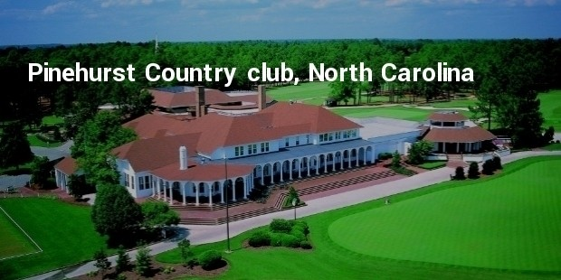 pinehurst country club, north carolina