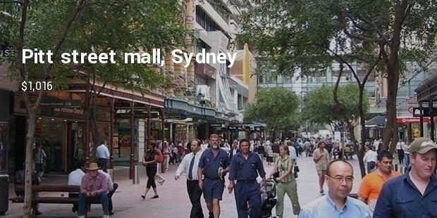 pitt street mall sydney