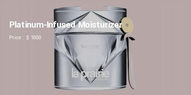 platinum infused moisturizer