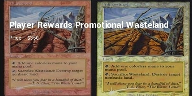 player rewards promotional wasteland