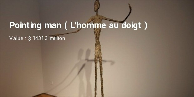 Pointing man (L'homme au doigt)