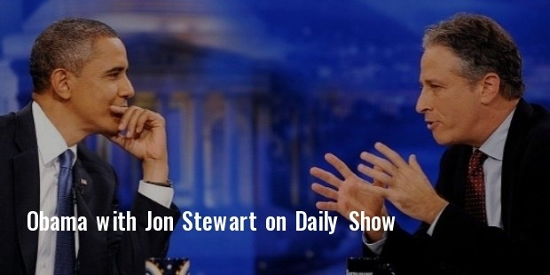 president obama to visit daily show before jon stewart s exit