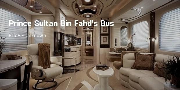 prince sultan bin fahds bus