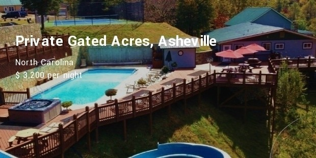 private gated acres, asheville, north carolina