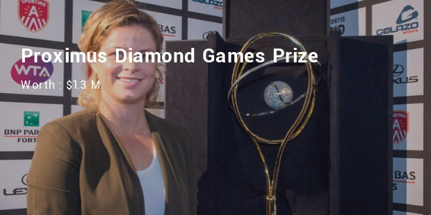 proximus diamond games prize worth