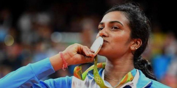 pv sindhu silver medal in rio