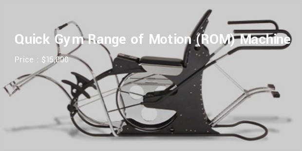 quick gym range of motion rom machine