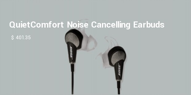 quietcomfort acoustic noise cancelling earbuds by bose