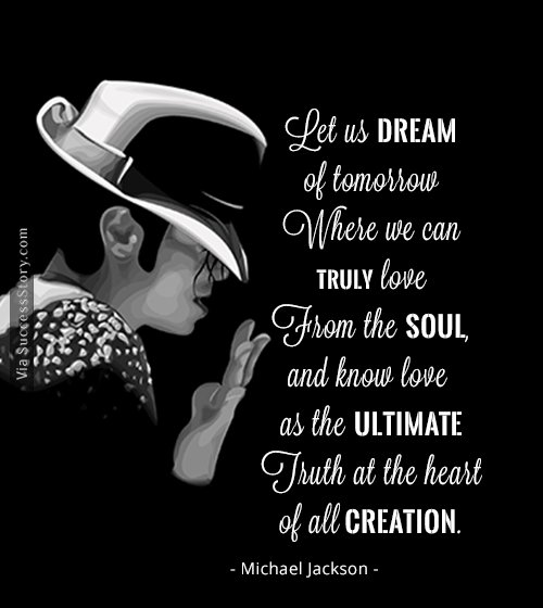 King Of Pop Michael Jackson Quotes Famous Quotes Success Story