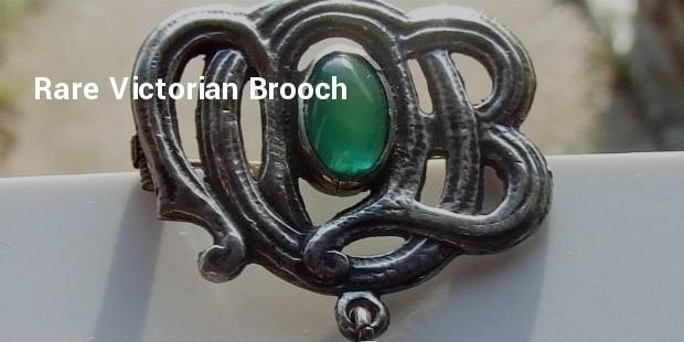 rare victorian brooch