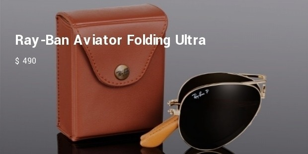 ray ban aviator folding ultra