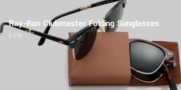 ray ban clubmaster folding sunglasses