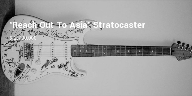 reach out to asia stratocaster