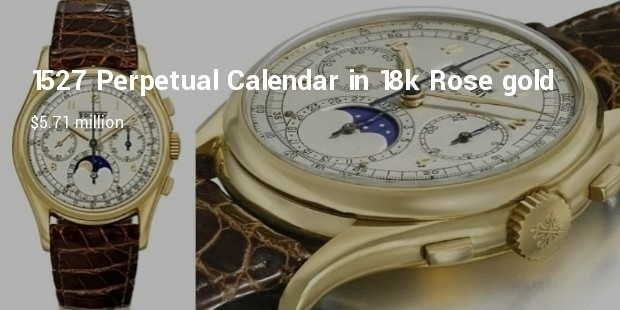 reference 1527 perpetual calendar in 18k rose gold