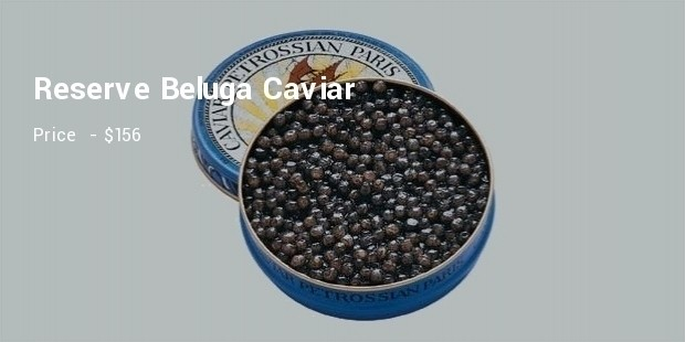 reserve beluga caviar